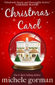 Christmas Carol cover red w quotes UK
