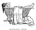 stock-vector-luxurious-bath-retro-clip-art