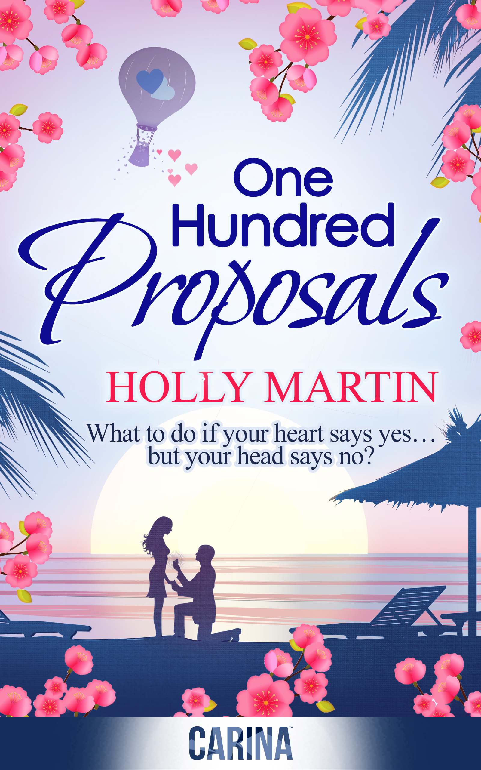 Publication day for One Hundred Proposals by Holly Martin
