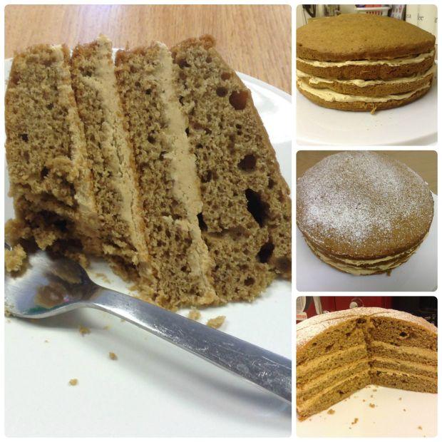 How To Make Cappuccino Sponge Cake