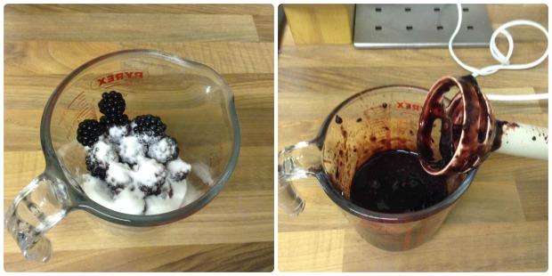 Blackberry Swirl Yogurt Loaf