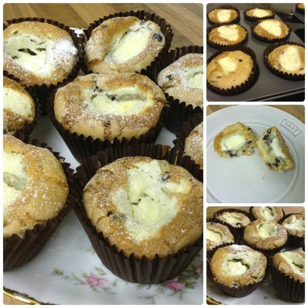 Cranberry & Cream Cheese Muffins