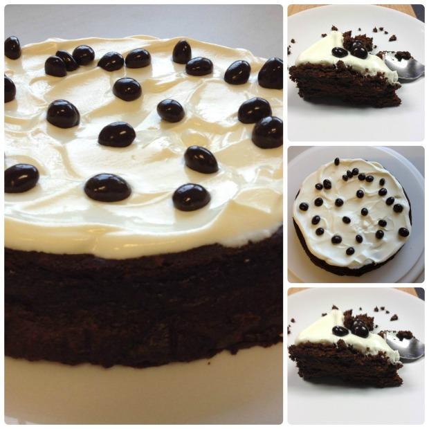 Sticky Mousse Cake