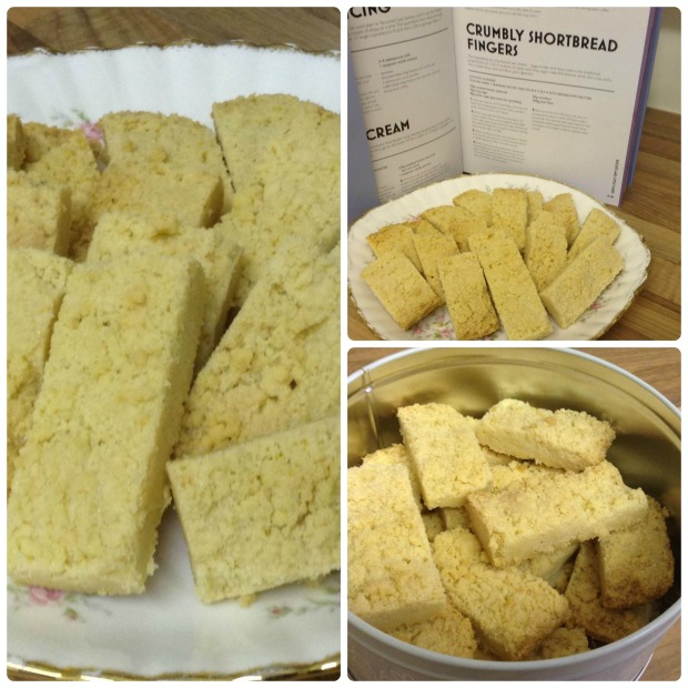Crumbly Shortbread Fingers